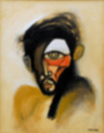 2007, Self portrait 5, Oil on Canvas, 11