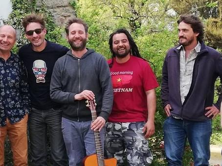 Le groupe Harisson Swing est en plein travail créatif au Spoum