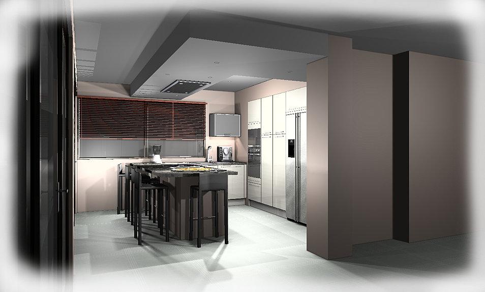 Projet Cuisine 3D #11: Gallery Of Projet Cuisine D With Cuisine 3D