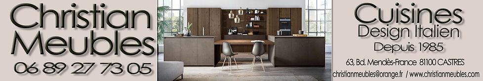 Cuisines Castres, cuisiniste castres, cuisines Tarn, Christian meubles, Design Italien