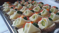 Mini chlebíčky