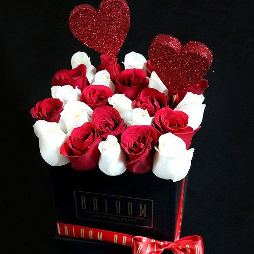Classic Cube of Roses