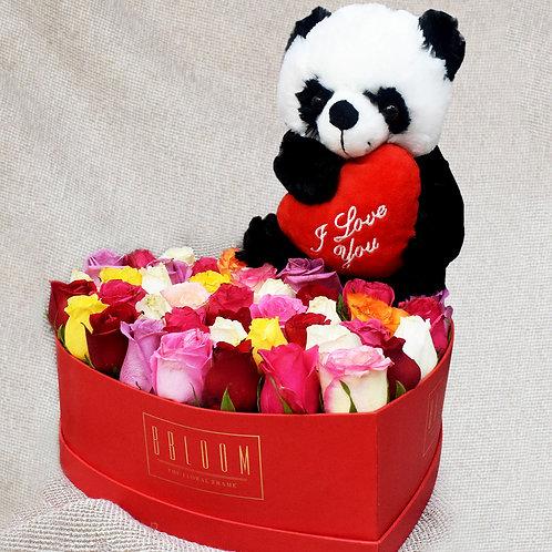 Panda Love Box