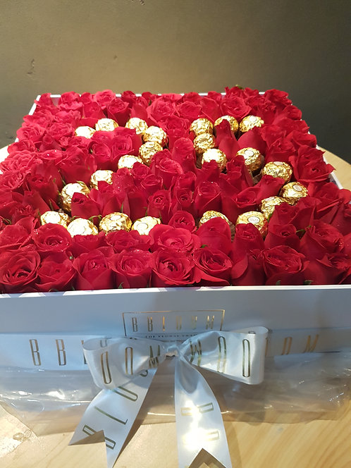 Century Rose box with Numbers