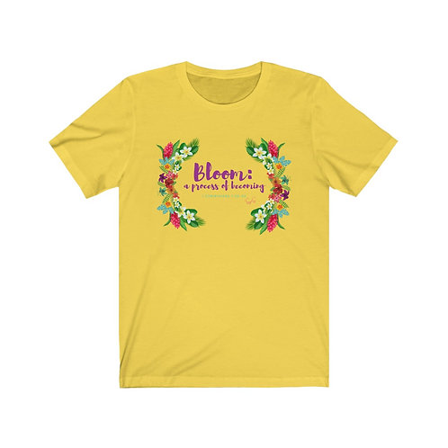 Bloom Process Unisex Jersey Short Sleeve Tee