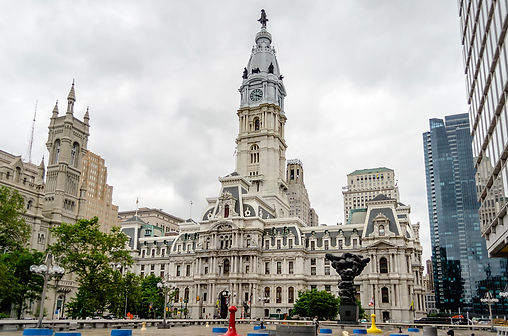 City Hall in Philadelphia Pennsylvania USA