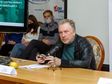 21 октября прошли мастер-класс кинокомпозитора Андрея Батурина и просмотры конкурсных фильмов