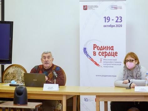 20 октября прошли мастер-класс режиссера Евгения Цымбала и просмотры конкурсных фильмов
