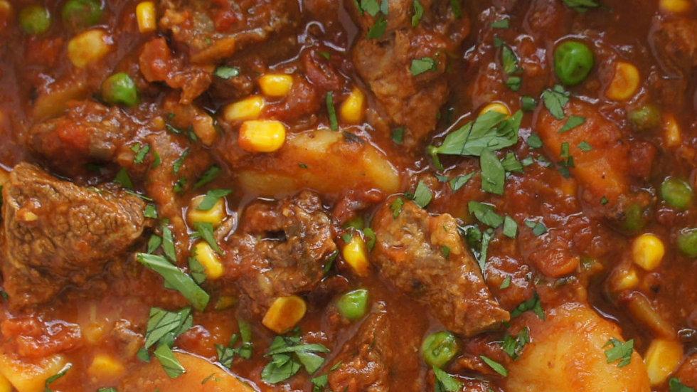 Lamb and veg casserole