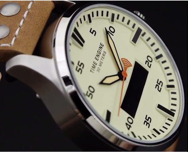Water resistant hybrid smart watch