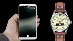 Mobile app hybrid smart watch