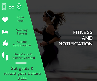 Record fitness data and recieve notification from your smart phone on your Watch Out bluetooth smart watch. Androis and iOS compatible