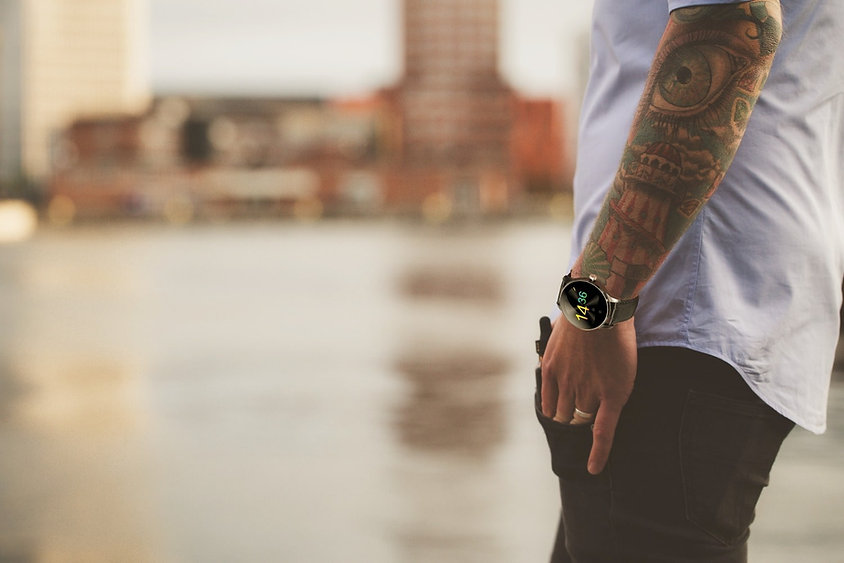 WatchOut Smart Watch-Elegant & Smart-min