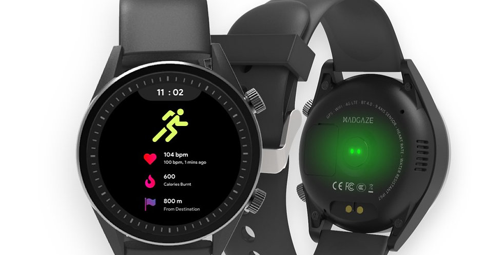 WatchOut presents MadGaze Smart Watch