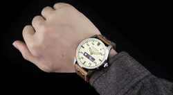 Heart rate monitor hybrid smartwatch