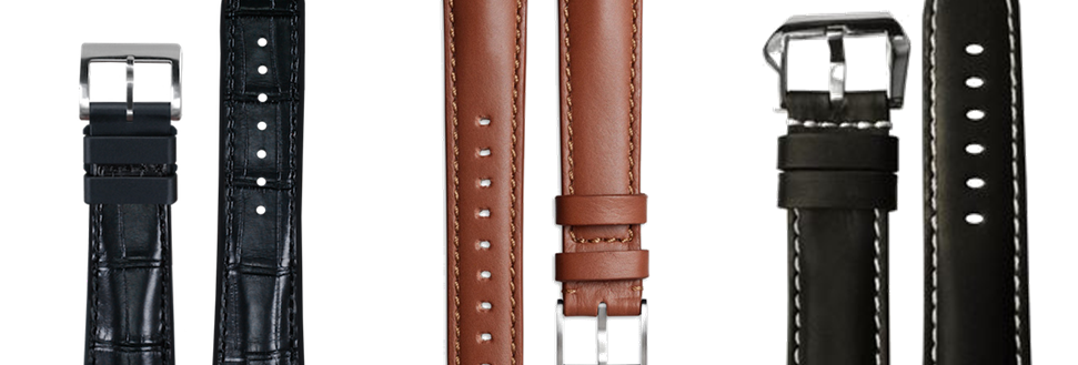 WatchOut Leather Strap