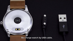 Charging cable hybrid smart watch