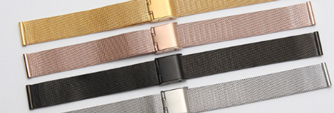 WatchOut Smart Watch Metal Strap Collection