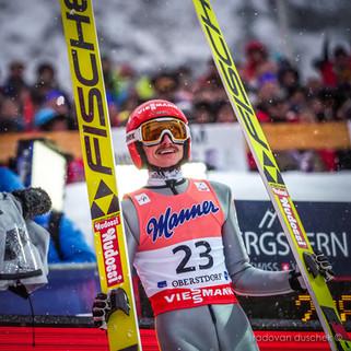 Richard Freitag (GER) - FIS Skiflying Worldchampionship 2018 in Oberstdorf (GER)