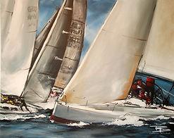 263. Segelturn, 100 x 80 cm (Sacchetto).