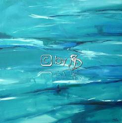 253. Abstrakt 'Wasser', 100 x 100 cm.JPG