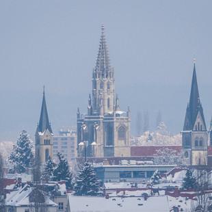 Konstanz - Blick vom Schweizer Seerücken