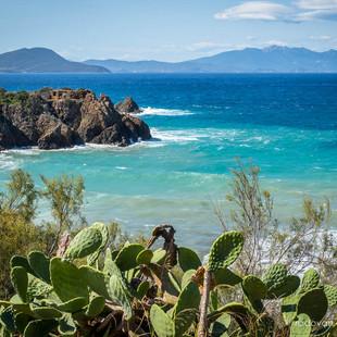 Toscana - Blick auf Elba