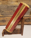 Wine carrier.  Handmade with beautiful woods in Montana, USA