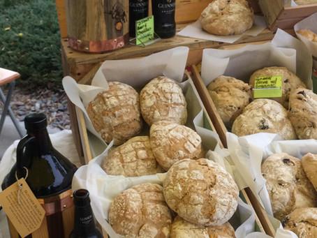 Guinness Cheddar Artisan Bread