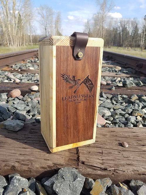 Leadslingers Black Flag Rum Case