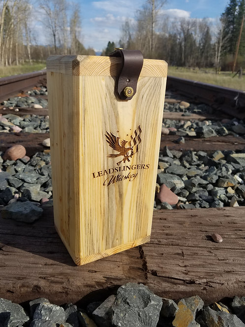 Leadslingers Whiskey Case - Blue Pine