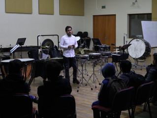 Clase magistral de percusión cerrará el primer mes de actividades educacionales online de la OSULS