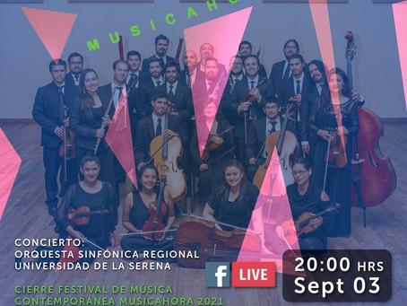 Ponencia y concierto sinfónico bajarán el telón del último día del Festival  Musicahora