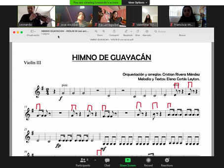 Jóvenes promesas de la Orquesta de Cámara de Guayacán amplían sus conocimientos junto a la OSULS