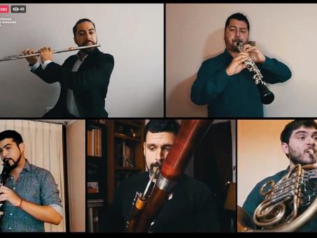 Quinteto de Vientos Maderas OSULS protagonizó cautivante viaje al siglo XIX y XX