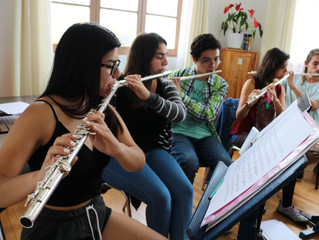 Nueva clase magistral desde casa se basará en el estudio de la flauta traversa