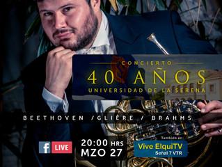 Matías Piñeira, cornista de la Filarmónica de Múnich, será solista invitado al I Concierto OSULS
