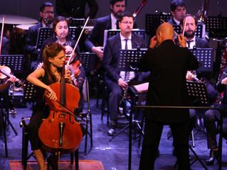 Cellista española cautiva al público con audaz presentación de Shostakovich