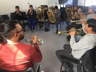 'Música sin Barreras': Orquesta Regional comparte con diferentes comunidades valiosa serie de activi