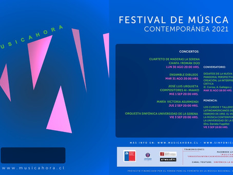 Este lunes se estrena la versión online del Festival de Música Contemporánea Musicahora