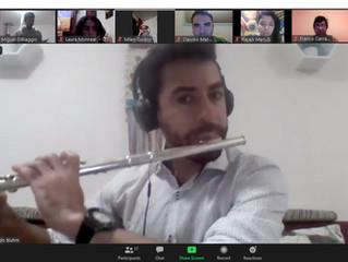 OSULS impartirá Ciclo de Instrucción Instrumental a la Orquesta de Cámara de Guayacán
