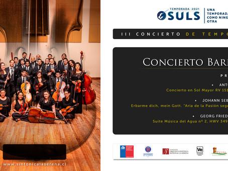 Concierto barroco de inspiración europea abrirá el segundo semestre de la OSULS