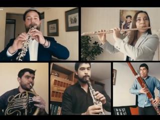 Orquesta Regional finaliza exitoso Ciclo de Música de Cámara desde casa con más 15 mil reproduccione