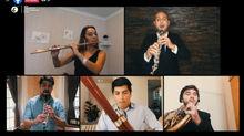 Quinteto de Vientos Maderas deleita al público con cautivante catálogo musical en formato íntimo