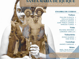 OSULS prepara repertorio de música chilena con adaptación de la 'Cantata Popular Santa María de Iqui