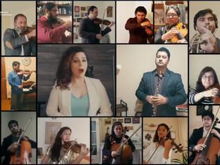 Orquesta Profesional y solista invitada deslumbraron con su talento en VII Concierto de Primavera