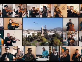 Emocionante concierto sinfónico celebró los 477 años de historia de La Serena