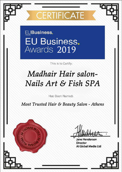 EU BUSINESS AWARD 2019
