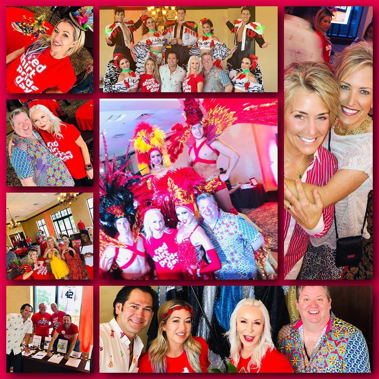 RED SHIRT PRIDE DAY KICK OFF BENEFIT!