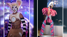 OVER THE TOP - STILT CHARACTERS